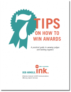 7 tips on how to win awards